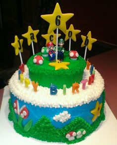 Super Mario Cake.