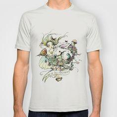 Alice T-shirt by GABI FVENTES  - $18.00