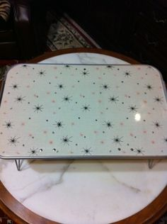 Vintage Retro Wood Formica TV Lap Trays Guardian Co California Excellent | eBay