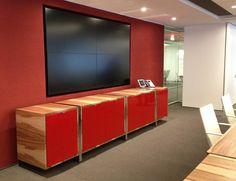 Highline Credenza 3 High Storage from Datesweiser