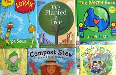 Earth Day Books for Toddlers to Elementary School