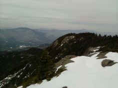 View from the top of Giant Mountain. ADK #2 Nov 2011