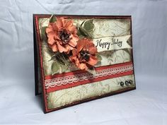 Stampin' Up! Spring Birthday Card - YouTube. Flowers starts at around 2:22 into video