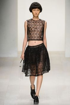 Simone Rocha Spring 2013 Ready-to-Wear Collection Slideshow on Style.com