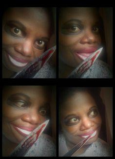 Purge Inspired Makeup Look