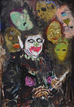 <span class='h1'>Farley Aguilar</span><br><br><em>Conjuror</em><br>2014, Oil on canvas