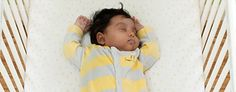Learn about safe sleep for your baby.