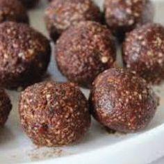 Pomegranate-Goji Energy Balls By Renita Rietz  For full recipe - https://www.facebook.com/YourOrganicSources/photos/a.429062533876015.1073741825.346339972148272/1111193615662900/?type=3&theater