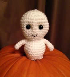 Whisp, The Friendly Ghost - Crochet creation by Bugsy's Burrow | Crochet.Community