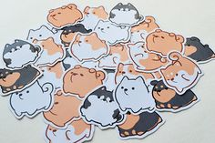 Handmade with <3 Each Set includes 6 Stickers: - Husky - Corgi - Shiba Inu - Rottweiler - Samoyed - Chow Chow Each sticker is approximately 1.5 Pre-cut, and ready to be stick on to things! Printed on glossy sticker paper, best for indoor use. I ship off within 1-2 business days, your tracking will be send to you through email on the day of shipment. Chubby Dog Charms: https://www.etsy.com/listing/510681962/chubby-dog-charms?ref=shop_home_active_4 Chubby Dog ...