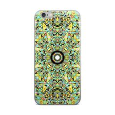 Hyperspace Glyph Graphic iPhone Case