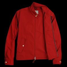 15024-02 Red Leather, Leather Jacket, Golden Bear, Jackets, Inspiration, Outfits, Shopping, Clothes, Fashion