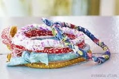 5 Minute DIY fabric wrapped bracelet