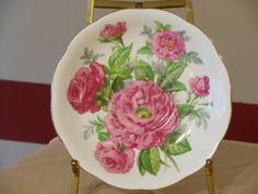 Vintage Roslyn Fine Bone China English Plate by RandysGallery