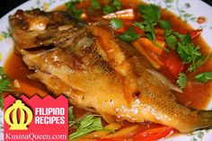 Fish Escabeche (Sweet and Sour Fish)
