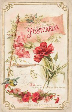 The Shakespeare Calendar for 1897 (Tuck DB Ephemera) Vintage Ephemera, Vintage Cards, Vintage Postcards, Vintage Images, Vintage Calendar, Vintage Easter, Journal Cards, Junk Journal, Scrapbook Paper