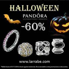 ¿Te atreves a descubrir las #joyas #Pandora más terroríficas? Celebra con Joyería Larrabe el #Halloween más especial.  #joyasPandora #Pandora #JoyeriaLarrabe #Halloween #nochedeHalloween