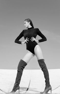 Hands On Hips, Knee Boots, Sporty, Shoes, Style, Fashion, Swag, Moda, Zapatos