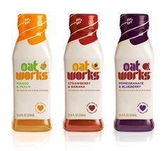 Oatworks package design by @Pearlfisher