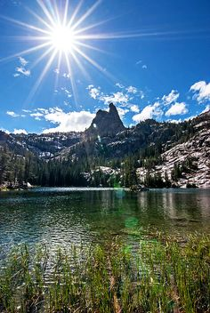 Sawtooth Mountains, Idaho; photo by Mark Weber