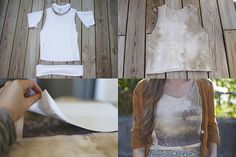 Awesome tank DIY from Sincerely, Kinsey