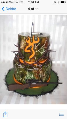 1000 Images About Camo Cakes On Pinterest Deer