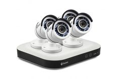 Swann Home Security System with 4 x Security Cameras (SWDSR-850004)