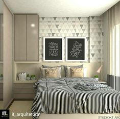 Modern Style Bedroom Design Ideas and Pictures. You're a fan of the modern designs and want to redecorate your bedroom to welcome New Year, let's see modern bedroom ideas. Home Decor Bedroom, Bedroom Furniture, Master Bedroom, Furniture Plans, Kids Furniture, Modern Bedroom, Bedroom Ideas, Room Inspiration, Small Spaces