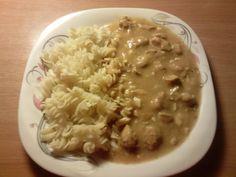 Štěpánská s těstovinou od Adddy Risotto, Oatmeal, Breakfast, Ethnic Recipes, The Oatmeal, Morning Coffee, Rolled Oats, Overnight Oatmeal