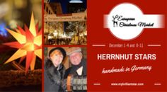 We are looking forward to having our Herrnhut Stars at the St Paul European Christmas Market! Our youngest member in Christmas Markets, where you can find the traditional Herrnhut Stars, is the European Christmas Market in St. Paul. Our partners are happy to seeing you there! - MyBrilliantStar #mybrilliantstar #herrnhutstar #moravianstar #decoration #gifts