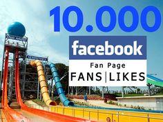 Ja hem arribat als 10.000 fans de la nostra pàgina de Facebook! Moltes gràcies a tots i recordeu que també ens podeu seguir a Twitter, Instagram i  Google+ #waterworldlloret #waterpark #lloretdemar #viulloret #costabrava