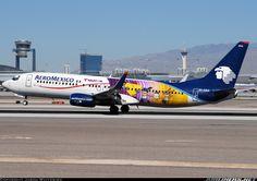 "AeroMexico ""Teleton"" Boeing 737-852 @ LAS"