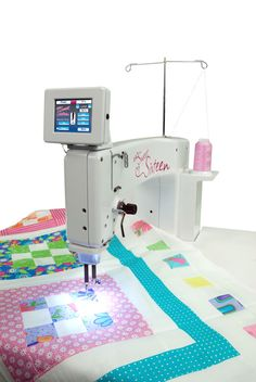 ProsperityStuff Free Motion Quilting A Wholecloth Quilt On A Flynn Multi  Frame | My Projects | Pinterest | Free Motion Quilting, Free And Quilting  Frames