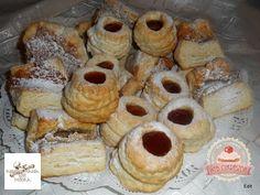 Hájas sütemények (élesztővel)