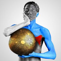 Ethiopian Photographer Aida Muluneh's Body Painting Pictures Will Stop You In Your Tracks Photos | W Magazine