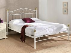 Snuggle Beds Ella (Limited Stocks) 5' King Size Bed Frame White by Snuggle Beds, http://www.amazon.co.uk/dp/B009YFH7NA/ref=cm_sw_r_pi_dp_AtBjtb0BJFH2D