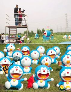 Kawaii sightings Doraemon 100 year celebration