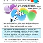 Make some wonderfully easy Literacy Center Activities for Spring. All you need are some old plastic Easter Eggs and my printouts. Students will lov...