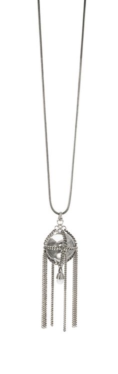 How fun is this orb pendant necklace from Jenny Bird?!
