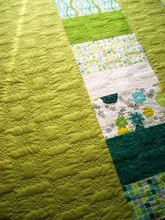 funky free motion quilting