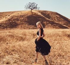 "Porter #7 Spring 2015  ""Prairie Rose"":  Model: Toni Garrn  Photography: Norman Jean Roy"