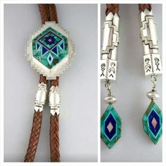 Inlay Flower Shield Bolo. Photo credit: Jessie Bennett 2014
