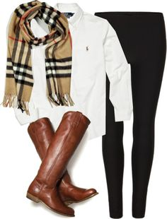 """""""Simple OOTD"""" by classically-preppy on Polyvore"""