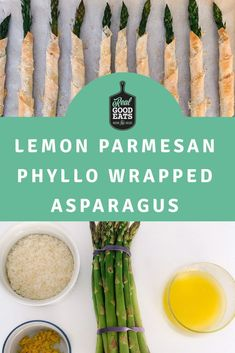 Looking for a way to add some veggies to your appetizer spread this season but want something more interesting than a veggie tray? These Lemon Parmesan They not only look nice, but they're delicious. These are sure to be a crowd-pleaser at your next get together! #appetizer #healthyrecipe #recipe #healthyeating #recipes #holidayappetizer #easyappetizer #simplerecipe Holiday Appetizers, Appetizer Recipes, Holiday Recipes, Veggie Tray, Parmesan, Food Print, Asparagus, Crowd, Easy Meals
