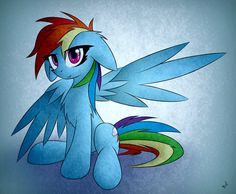 [Just] Rainbow Dash by Bloody-Sky-Z on deviantART
