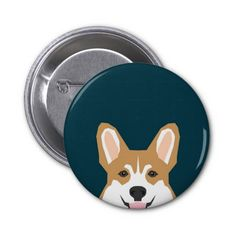 Corgi print illustration for pet owners and dog lovers.