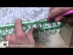 How To Loom Knit Snow Bunny Scarf 2 of 2