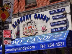 trucks and red barns: Economy Candy