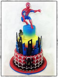 Spiderman Cake - Cake by Rossella Curti