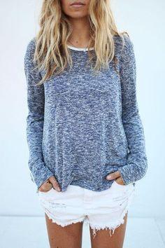 Lightweight long sleeves to wear after your beach trip. #beachfashionforwomen
